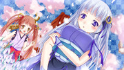 雪月花の雪の娘と花の娘