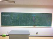 M.S.S.P黒板を真似して描いてみた。