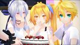 【MMDモデル配布あり】亞北ネルの誕生日パーティー