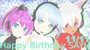 【揺歌サユ誕生祭2013】サユさん、誕生日おめでとう~