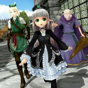 【第二回MMDF豊穣祭】姫と従者たち