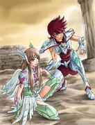 鷲座の少女と天馬座の少年
