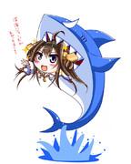 【艦これ】深海ジョーズがあがったヨー!!【金剛】
