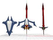 精霊石の剣と盾