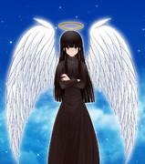黒髪ロング⑨天使長
