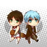 テツヤ・ポッターとハリーのバスケ