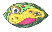 異次元世界のカエル