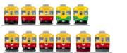 富山地方鉄道10030系 全面一覧 おまけ付