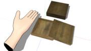【MMD】小さな木箱
