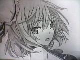 茨木華仙を描いてみた。