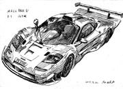 マクラーレン F1 GTR ロードカー