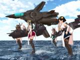 HI!提督ぅ。空の守りはオマカセシマース!