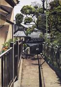 海への小道 藤沢市江の島