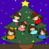 paletでクリスマスツリー