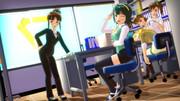 【MMD】とある事務所のとある風景①【アイドルマスター】