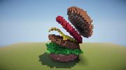 【Minecraft】ハンバーガー