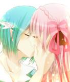 誓いのキスを