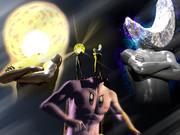 星のカービィ3D VSMr.シャイン&Mr.ブライト