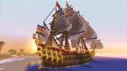 戦列艦 -HMS Royal Knight- Minecraft Xbox360
