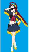 【MMD】 キオ式 纏流子 アニメちっくにしてみた
