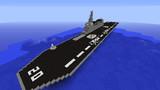 マイクラで海上自衛隊護衛艦「いせ」らしきものを作ってみました