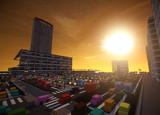 【Minecraft】 巨大駅