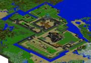 名古屋城鳥瞰図