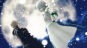 【MMDGE】月と雪と
