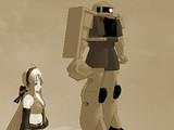 ハクが主役のロボットアニメ【MMD】