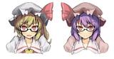 スカーレット姉妹 眼鏡.ver