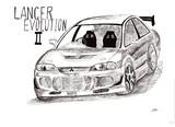 三菱 Lancer EvolutionⅡ