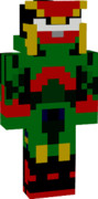 マイクラスキン 仮面ライダー鎧武 スイカアームズ