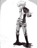 フォン・スパーク〔機動戦士ガンダム00F〕描いてみた