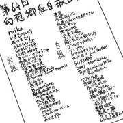 第64回幻想郷紅白歌合戦出演者リスト