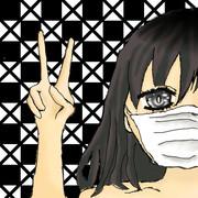 マスク女子