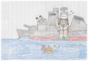 <敵の潜水艦を発見!>