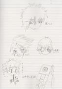 色々なキャラクターを描いてみました