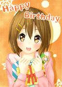 Happy Birthday唯ちゃん