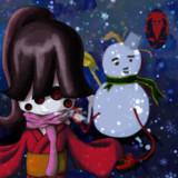 呪い人形【雪遊び】