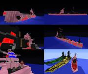 【Minecraft】霧の重巡洋艦マヤ【紹介7作目】