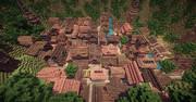 【Minecraft】 山に囲まれた街 -Ventus- 1