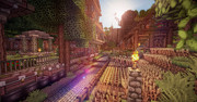 【Minecraft】 山に囲まれた街 -Ventus- 2
