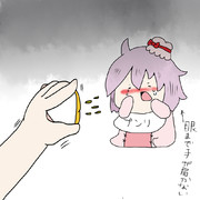 蜜柑の汁で号泣
