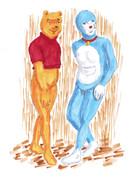 世界的人気のクマとネコ