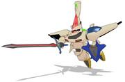 MMD「秘剣!覇翔斬り-クラッシュドーン-!!」