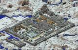 安芸城 全景地図