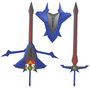 MMD[聖騎士の剣と盾]