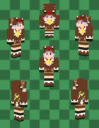【Minecraft 】トナカイパーカー