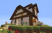 【Minecraft】建築下手の経過記録 その10.5【1.7.2】