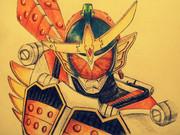 仮面ライダー鎧武を描いてみた。